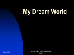 My_Dream_World_lesson_1.ppt