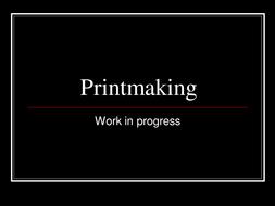 Printmaking.ppt