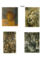 Picasso - examples of each genre