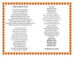 Food Glorious Food lyrics - Oliver Twist
