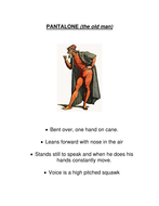Commedia stock characters