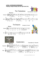 Keyboard Performance. Teletubbies; The Simpsons and more!