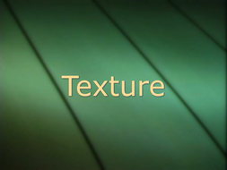 PowerPoint for music lesson on texture