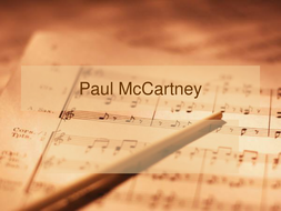 Paul McCartney PowerPoint