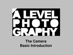 The Camera - Introduction