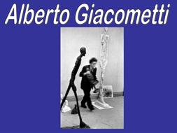 Alberto Giacometti Presentation