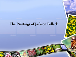 The paintings of Jackson Pollock