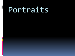 Portrait lesson PowerPoint