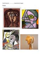 picasso inspiration facial features.docx