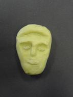 Stylised head soap sculpture.JPG