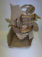 Naum Gabo inspired cardboard sculpture.jpg