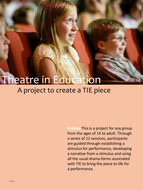 Theater in Education / TIE / Childrens Theater
