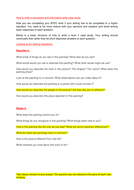 How to write a case study on an artist