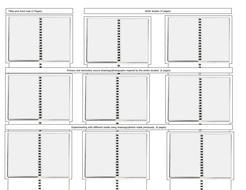 Sketch book plan