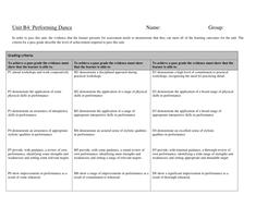Performance Dance Unit GradingTable.doc