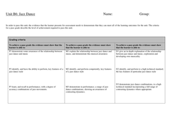 Jazz Dance Unit Grading Table(1).doc