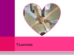 Dance Teamwork PowerPoint