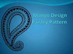 Paisley (Mango) Design PowerPoint