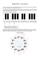 A Quick Guide to Building Chords