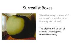 Surrealist Boxes