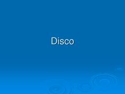 Disco PowerPoint