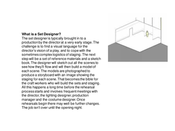 Set Design Resources