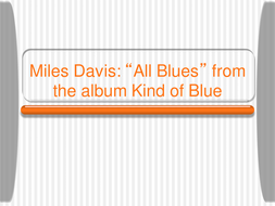 Miles Davies - All Blues