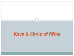Keys and Circle of fifths.ppt
