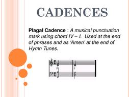 Cadences.ppt