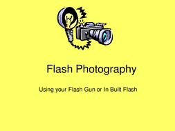 Flash Photography.ppt