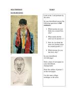 Van Gogh_Self Portrait handouts