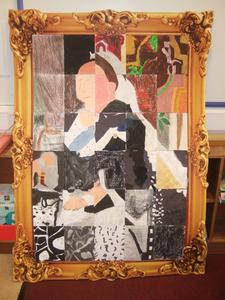 Drawn to Art: Mosaic Art - Queen Victoria
