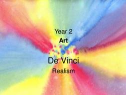 Realism Art - Watercolor Painting a Pansy - De Vinci
