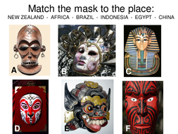 Yr 8 African Masks NEW fw.ppt