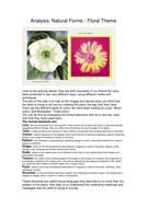 Analysis work sheet floral.doc
