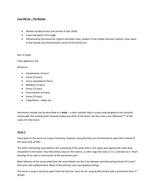 Love Me Do Info Sheet and Listening Quiz