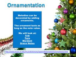 Guide to Ornamentation
