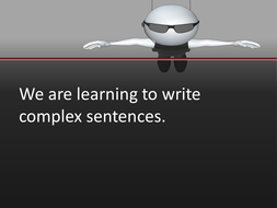 complex sentence intro day two.ppt