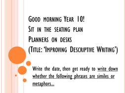 Improving dull writing