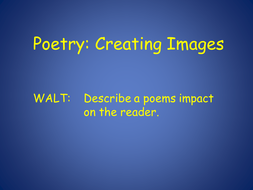 Poetry vocab introduction ppt