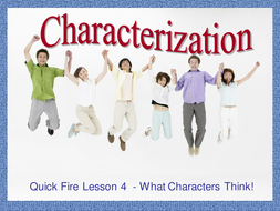 Characterization - Thoughts