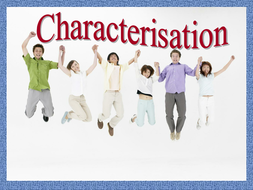 Characterisation - What is Needed.ppt