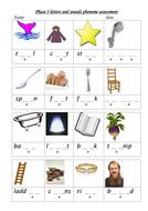 Phoneme assessment knowledge