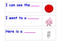CVC High-Frequency Word Sentences
