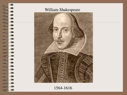 Shakespeare PPT
