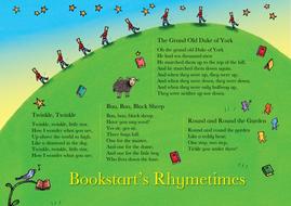 Bookstart Rhymetime sheets
