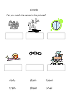 review of letters and sounds