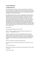 Example Speech On A RANDOM Topic- lesson 3.doc