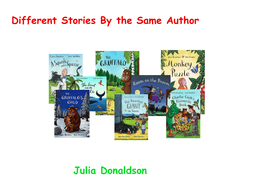 Different stories by the same author Wk 1 - 1st grade