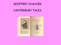 Canterbury Tales General Prologue.ppt